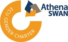 Athena SWAN logo for ECU gender charter
